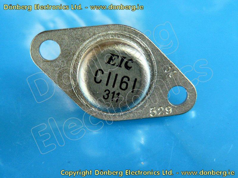 Semiconductor: 2SC1161 (2SC 1161) - TRANSISTOR SILICON NPN / 200V