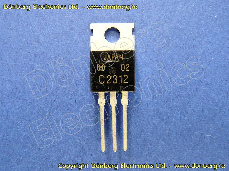 Semiconductor: 2SC2312 (2SC 2312) - TRANSISTOR SILICON NPN / 60V